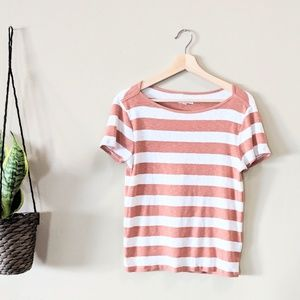 MADEWELL Musical Wide Neck Tee Size Large